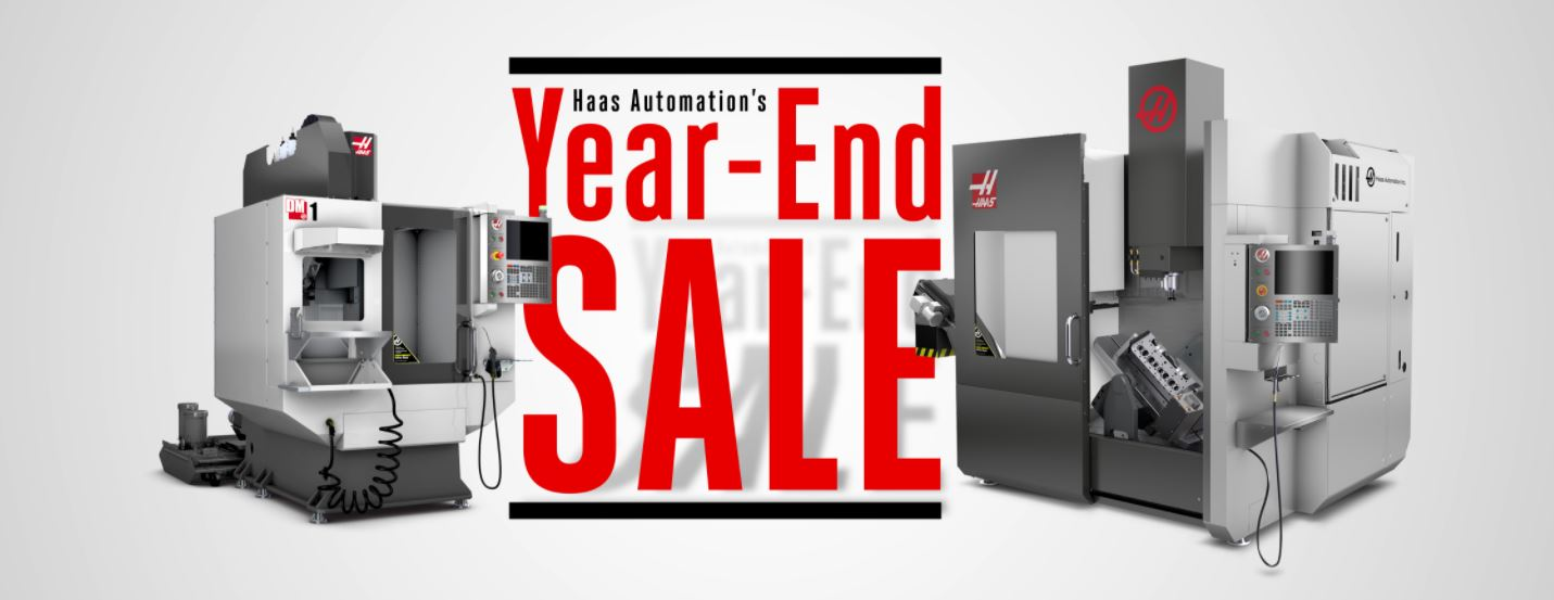 Haas Year End Sale